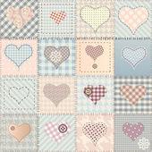 Liefde patroon — Stockvector