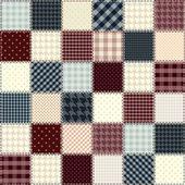 Steppung design in schach-reihenfolge. nahtlose hintergrund texturen. — Stockvektor