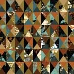 Triangles grunge retro — Stock Vector #32339217