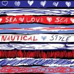 Grunge striped pattern — Stock Vector