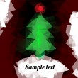 Vector de stock : Christmas background.