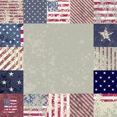 Flag usa — Stock Vector