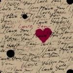 "Inscriptions ""I love you"" — Stock Vector"