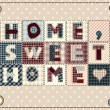 Stock Vector: Home, sweet home