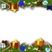 New year or Christmas background — Stock Vector