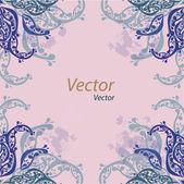 Designed ornament — Stock Vector