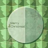 Merry christmas ve yeni yıl arka plan — Stok Vektör