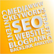 seo words — Stock Photo