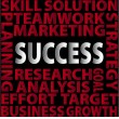 Success-words — Stock Photo
