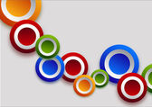 Different  color circles — Stock Photo