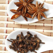 Star anise and clove — Stock Photo #34753045