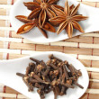 Star anise and clove — Stock Photo