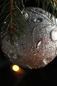 Bola de navidad decoración — Foto de Stock