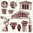 Ancient Greece Elements — Stock Vector #30673841