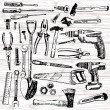Different Tools — Image vectorielle