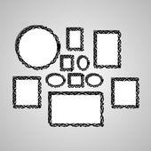 Vektor rámeček obrázku. — Stock vektor