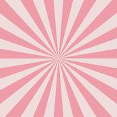 Retro rosa strålar — Stockvektor