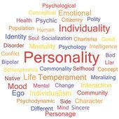 Personality — Stock vektor