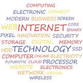 Internet — Stock Vector