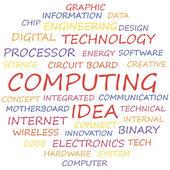 Computing — Stock Vector