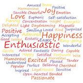 Enthusiastic — Stock Vector
