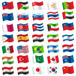 Flags of the World — Stock Vector