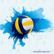 Volleyball abstract — Stock Vector #48684851