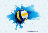 Volleyball abstract — Stock Vector