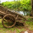 Wooden cart — Stock Photo #31342819