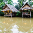 Exotic huts in the lake, Thailand. — Stock Photo #31354847