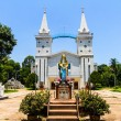 Catholic church, Nakhon Panom, Thailand. — Stock Photo