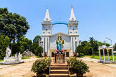 Catholic church, Nakhon Panom, Thailand. — Stock Photo