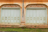 Colonial old building style at Tharae, Sakon Nakhon, Thailand. — Stock Photo