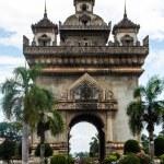 Patuxai arch monument, Vientiane, the Capital of Laos. — Stock Photo #31388297