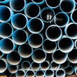 PVC pipes stack — Stock Photo