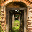 Colonial ruin in Tha Rae, Sakon Nakhon, Thailand — Stock Photo