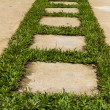 Stock Photo: Stone pathway