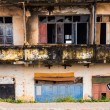Stock Photo: Colonial ruin in Vientiane, Laos.