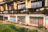 Colonial ruin in Vientiane, Laos. — Zdjęcie stockowe