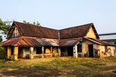 Colonial ruin in Vientiane, Laos. — Stock Photo