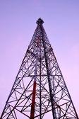 большие телефонные столбы — Стоковое фото