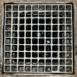Stockfoto: Sewer grate.