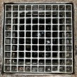 Sewer grate. — Stockfoto