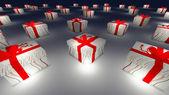 Many Gift box — Stock Photo
