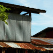 Stock Photo: Galvanized sheet House