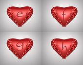 Valentine text — Stock Photo