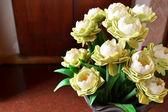 Lotus flower in vase — Stock Photo