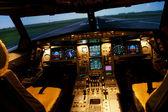 Plane control — Stock Photo