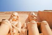 Abu simbel egypt — Stock Photo