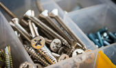 Bolts and screws — Stock Photo